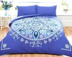 paisley duvet cover king size blue large of plain