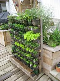 garden materials. The Aim: To Build A Low Cost Vertical Garden Using As Much Recycled Material Materials Y