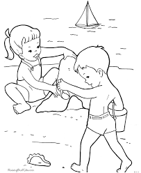 Small Picture beach coloring pages from oliver Free Printables
