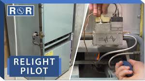 How To Start A Pilot Light On Furnace Furnace How To Relight A Pilot Light Repair And Replace