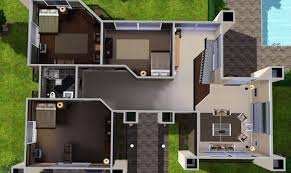 simple sims 3 houses design placement