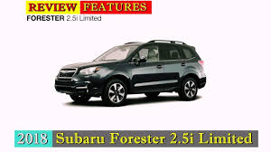 2018 subaru 2 5i limited. interesting subaru 2018 subaru forester 25i limited full review features and price on subaru 2 5i limited 1