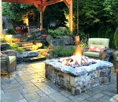 stone patio with fire pit natural stone fire pit outdoor fire pit kits stone wood burning stone patio with fire pit
