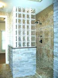 glass blocks for shower block enclosures kit projects bathroom wall glass blocks for shower block kits