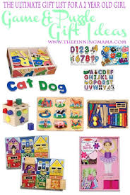 Best game and puzzle gift ideas for a two year old girl The Ultimate List of Gift Ideas 2 Year Old Girl {Continued