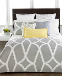 hotel collection frame white queen duvet cover sweetgalas closeout hotel collection modern lancet bedding only