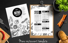 Restaurant Menu Design Templates Top 25 Free Paid Restaurant Menu Templates