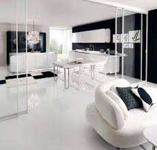 Black White Kitchen Designs Kitchen Amazing Modern Black And White Kitchen Design With Low