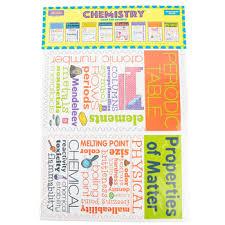 Mcdonald Publishing Chemistry Chatter Charts 11 X 17