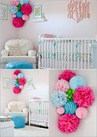 Pom Pom Decorations Decorate Your Darling Babys Nursery With Pom Poms