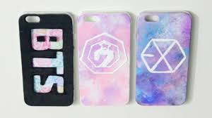DIY Kpop Phone Case Ideas GOT7 BTS & EXO