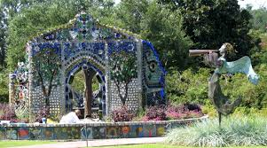 the minnie evans bottle chapel at airlie gardens