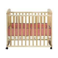 mini baby cribs alpha mini rocking mobile wood baby crib in natural baby mini mini baby cribs
