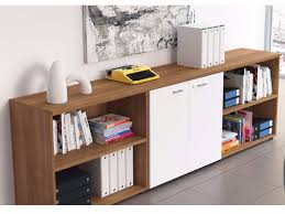 modern wood office storage cabinets with white drawers door design ideas