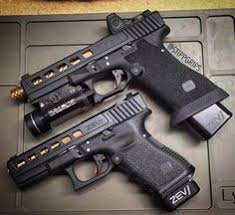 Stickman Magazine Holder Glock 100 Custom with RMR Incog holster spare mag holder Just 54