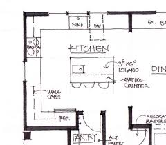 28 galley kitchen floor plans wood floors in small with