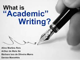 what is academic writing