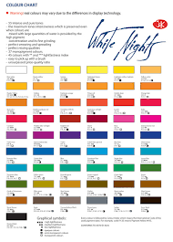 Winsor And Newton Cotman Color Chart Winsor Newton Professional Watercolor Chart Pdf Www