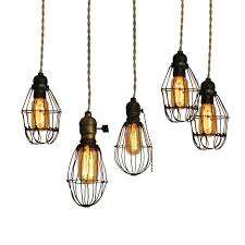 modern industrial lighting fixtures. Early Century Industrial Cage Lights Fixtures From CRIBCANDY - A Gallery Of Hand Picked Houshold And Interior Design Items Magazines Webogs, Modern Lighting M