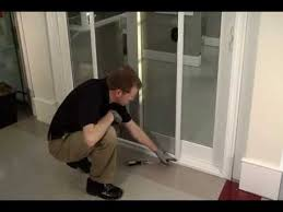 how to proper removal replacement of sliding glass door screen