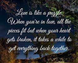 love is like a puzzle love quotes and covers written by admin on monday 27 2013 07 53