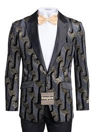 Patterned Tuxedo