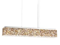 led pendant lamp with swarovski crystals refrax led pendant lamp by schonbek