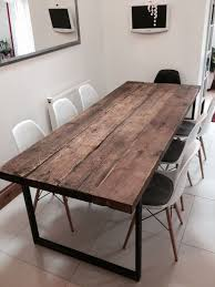 dining table 8 seater wood. reclaimed industrial chic seater solid wood and metal dining table.bar cafe bar restaurant furniture steel made to measure 242 von rccfurniture table 8 t