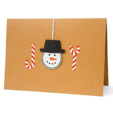 HOME DZINE Craft Ideas  Make Your Own Christmas CardsChristmas Card Craft Ideas