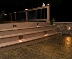 led deck rail lights. Stamped Concrete And Stone Hardscape Pictures Built By All Led Deck Rail Lights G