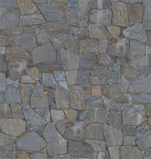 seamless stacked stone cement wall 3d