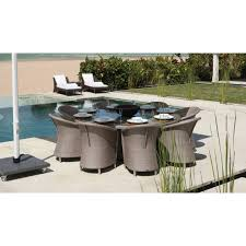 skyline design outdoor furniture. skyline design 8 seater round chester dining set buy online at luxdeco outdoor furniture e