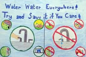 Charts On Water Conservation For Kids Google Search