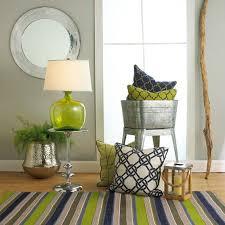 blue green living room simple designs