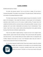 expository essay global warming greenhouse effect global  expository writing global warming