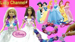 Búp bê Barbie YOGA MADE TO MOVE Làm VÒNG ĐEO TAY Công Chúa DISNEY - YouTube