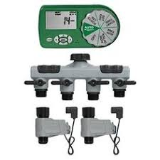 Small Picture Orbit 4 Station Easy Set Logic IndoorOutdoor Sprinkler Timer