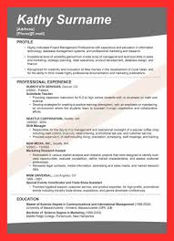 A Good Resume Title Good Resume Format