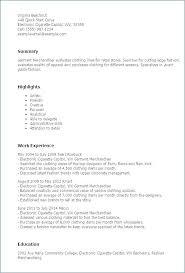 Merchandising Resume Examples Mesmerizing Visual Merchandising Resume Merchandiser Resume Sample Fashion Cover