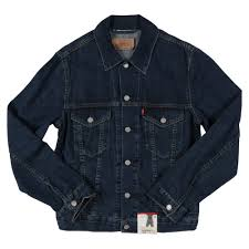 red tab guys standard fit trucker jacket