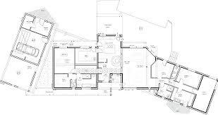 plan maison moderne gratuit pdf semi contemporaine attrayant ee 4 de d architecte