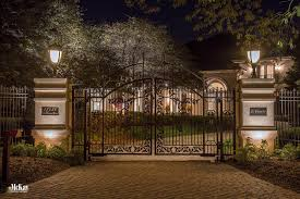 Outdoor Lighting Ideas Residential Gate Lighting And Driveway Lighting Omaha