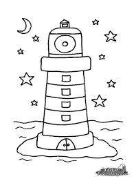 Small Picture Coloring Pages Printable Lighthouse Coloring Pages Coloring Me Nc