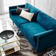 peacock blue furniture. Teal Blue Velvet Sofa, Peacock Blue, Sherwin Williams Marea Baja Furniture S