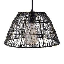 metal wire mesh lamp shade hanging light ceiling pendant light e27 antique black