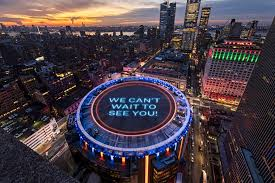 madison square garden to wele fans