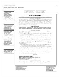 Transitional Resume Sample
