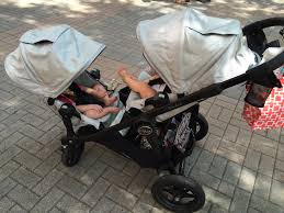 baby jogger city select double with seats