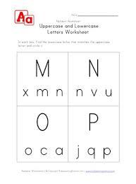 uppercase m n o and p worksheet