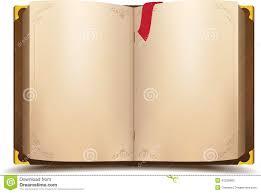 old open magic book vector cartoon ilration